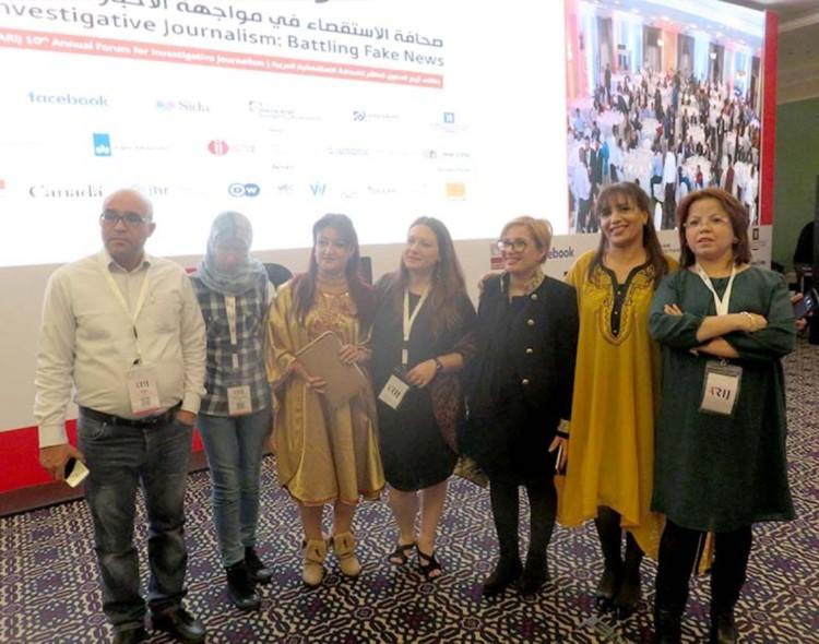 مركز تطوير الاعلام بتونس يشارك في فعاليات ملتقى شبكة اعلاميون من أجل صحافة استقصائية عربية