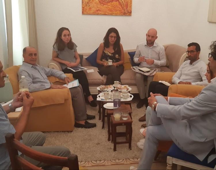جلسة عمل حول برنامج صحافة المواطنة والصحافة الاستقصائية من اجل حوكمة محلية رشيدة بالشمال الغربي