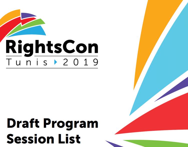 المنتدى العالمي لحقوق الإنسان في العهد الرقمي  RightsCon  في تونس 2019